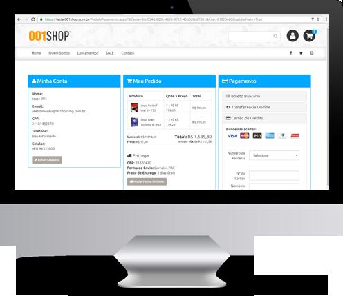 984199922 Checkout simplificado para que seu cliente não tenha dúvidas na finalização  das vendas.